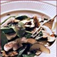 Food & Wine: Arugula, Mushroom and Walnut Salad