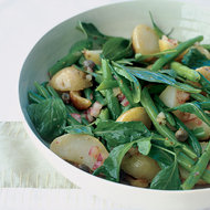 Food & Wine: Arugula Salad With Potatoes and Green Beans