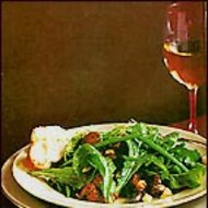 Food & Wine: Arugula and Chanterelle Salad with Vacherin Croutons