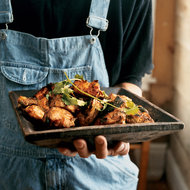 Food & Wine: Asian-Style Grilled Chicken
