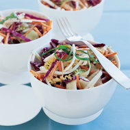 Food & Wine: Asian Vegetable Slaw