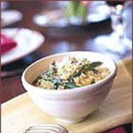 Food & Wine: Creamy Asparagus Risotto