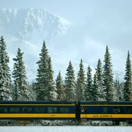 Food & Wine: The Most Beautiful Winter Train Routes in North America