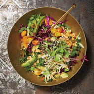 Food & Wine: Avocado-and-Cabbage Slaw
