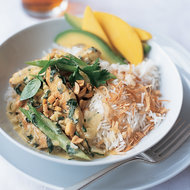 Food & Wine: Basil Chicken Curry with Coconut Rice