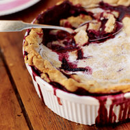 Food & Wine: Blackberry Cobbler