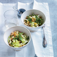 Food & Wine: Chickpea Salad with Celery, Golden Raisins and Lemon