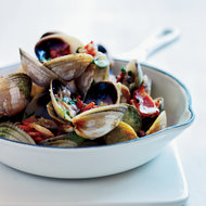 Food & Wine: Pan-Roasted Clams with Bacon, Bourbon and Jalapeño