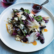 Food & Wine: Warm Radicchio with Vin Cotto and Blu Di Bufala
