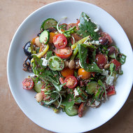 Food & Wine: Greek Salad