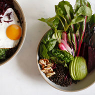 Food & Wine: Brain Food Bowl with a Coconut-Fried Egg
