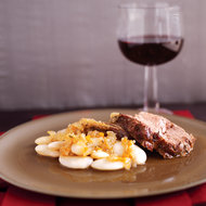 Food & Wine: Braised Lamb with Giant White Beans