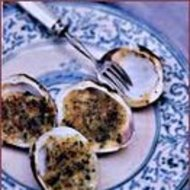 Food & Wine: Broiled Clams