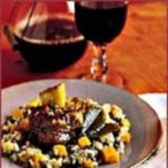 Food & Wine: Butternut Squash, Swiss Chard and Apple Risotto