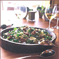 Food & Wine: Endive-Watercress Salad with Candied Walnuts