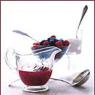 Food & Wine: Mocha Panna Cotta with Cherry Coulis