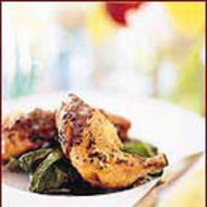 Food & Wine: Parmesan Chicken with Balsamic Butter Sauce