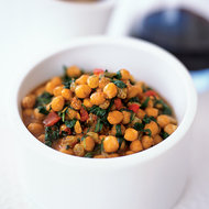 Food & Wine: Chickpea and Spinach Stew