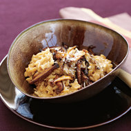 Food & Wine: Chimayó-Chile Risotto with Shiitake Mushrooms