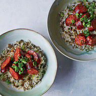 Food & Wine: Chorizo with Rice and Lentils