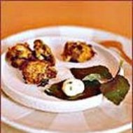 Food & Wine: Salt Cod Cakes with Herbed Mayonnaise