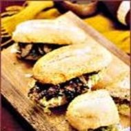 Food & Wine: Michael's Flank Steak Hoagies