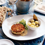 Food & Wine: Crab Cakes with Lemongrass Mayonnaise