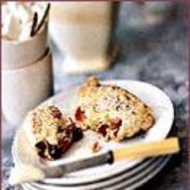 Food & Wine: Cranberry Date Scones