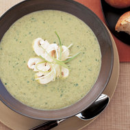 Food & Wine: Creamy Scallion-Mushroom Soup