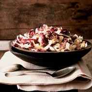 Food & Wine: Crisp Winter Salad with Ginger-Garlic Vinaigrette