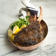 Food & Wine: Dry Aged Tomahawk Steak for Two