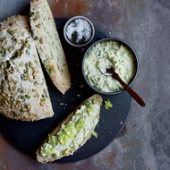 Food & Wine: Egg Salad with Lovage on Seeded Quick Bread