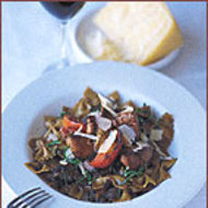 Food & Wine: Farfalle with Wild Mushrooms
