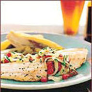 Food & Wine: Snapper with Cucumber Vinaigrette