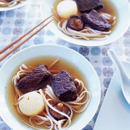 Food & Wine: Five-Spice Short Ribs with Udon Noodles