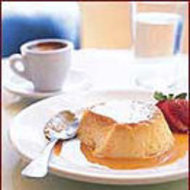 Food & Wine: Cheesecake Flan