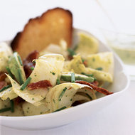 Food & Wine: Endive and Bacon Salad with Avocado Dressing