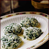 Food & Wine: Spinach and Ricotta Gnocchi