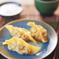 Food & Wine: Crispy Pork and Kimchi Pot Stickers