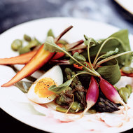 Food & Wine: Spring Vegetable Bagna Cauda