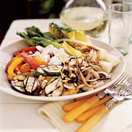 Food & Wine: Adler & Fertig's Knife and Fork Grilled Vegetable Salad