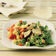 Food & Wine: Chicken Salad with Green Goddess Dressing