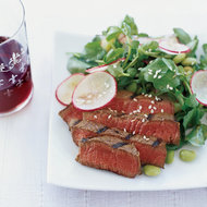 Food & Wine: Grilled Beef with Sesame Dressing