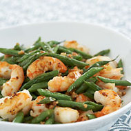 Food & Wine: Stir-Fried Green Beans with Shrimp and Garlic