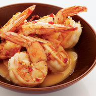 Food & Wine: Spicy Shrimp with Garlic Butter