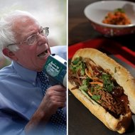 Food & Wine: 7 Democratic Presidential Candidates As Represented by Sandwiches