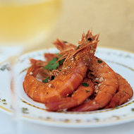 Food & Wine: Garlicky Shrimp with Lemon