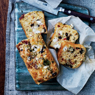 Food & Wine: Goat Cheese, Bacon and Olive Quick Bread