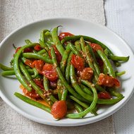 Food & Wine: Green Beans in Cherry Tomato Sauce