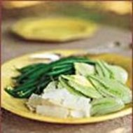 Food & Wine: Green Bean and Fennel Salad with Shaved Parmesan